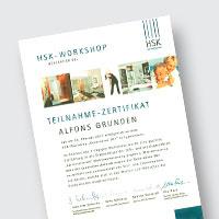 Zertifikat - Sanitär/Bad - Grunden & Föcker