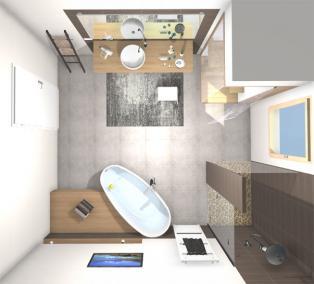 Beispiel - 3D Badplanung - Schielein