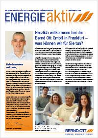 Kundenzeitung - Energie aktiv - Ott Ihr Fachmann aus Frankfurt/Bergen-Enkheim