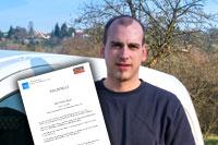 Daniel Böck hat erfolgreich die Abschlussprüfung der Wasserhygieneschulung nach VDI/DVGW 6023 Kategorie B bestanden.